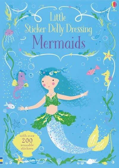 Usborne Little Sticker Dolly Dressing: Mermaids