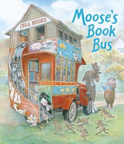 Candlewick Moose's Book Bus