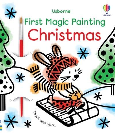 Usborne First Magic Painting Christmas