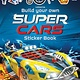 Usborne Build Your Own Supercars Sticker Book
