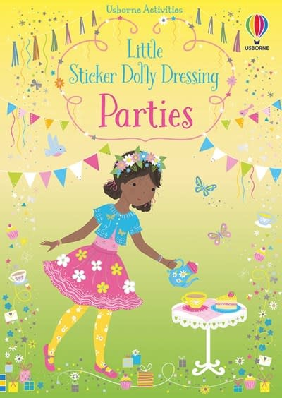 Usborne Little Sticker Dolly Dressing Parties