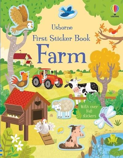 Usborne First Sticker Book Farm