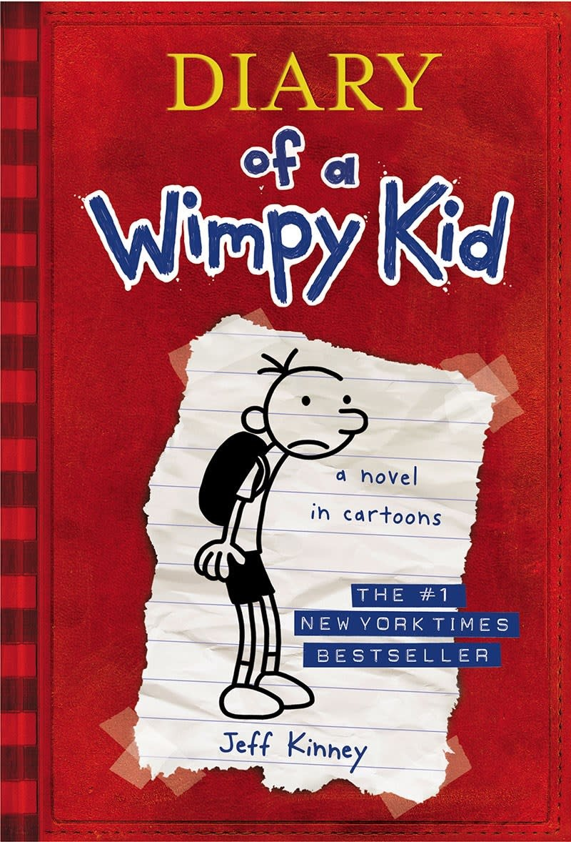 Amulet Books Diary of a Wimpy Kid 01