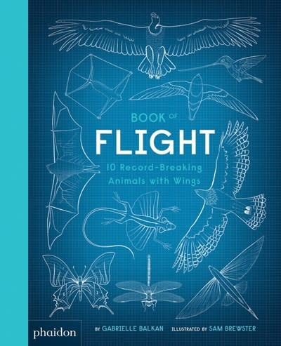 Phaidon Press Book of Flight: 10 Record-Breaking Animals with Wings