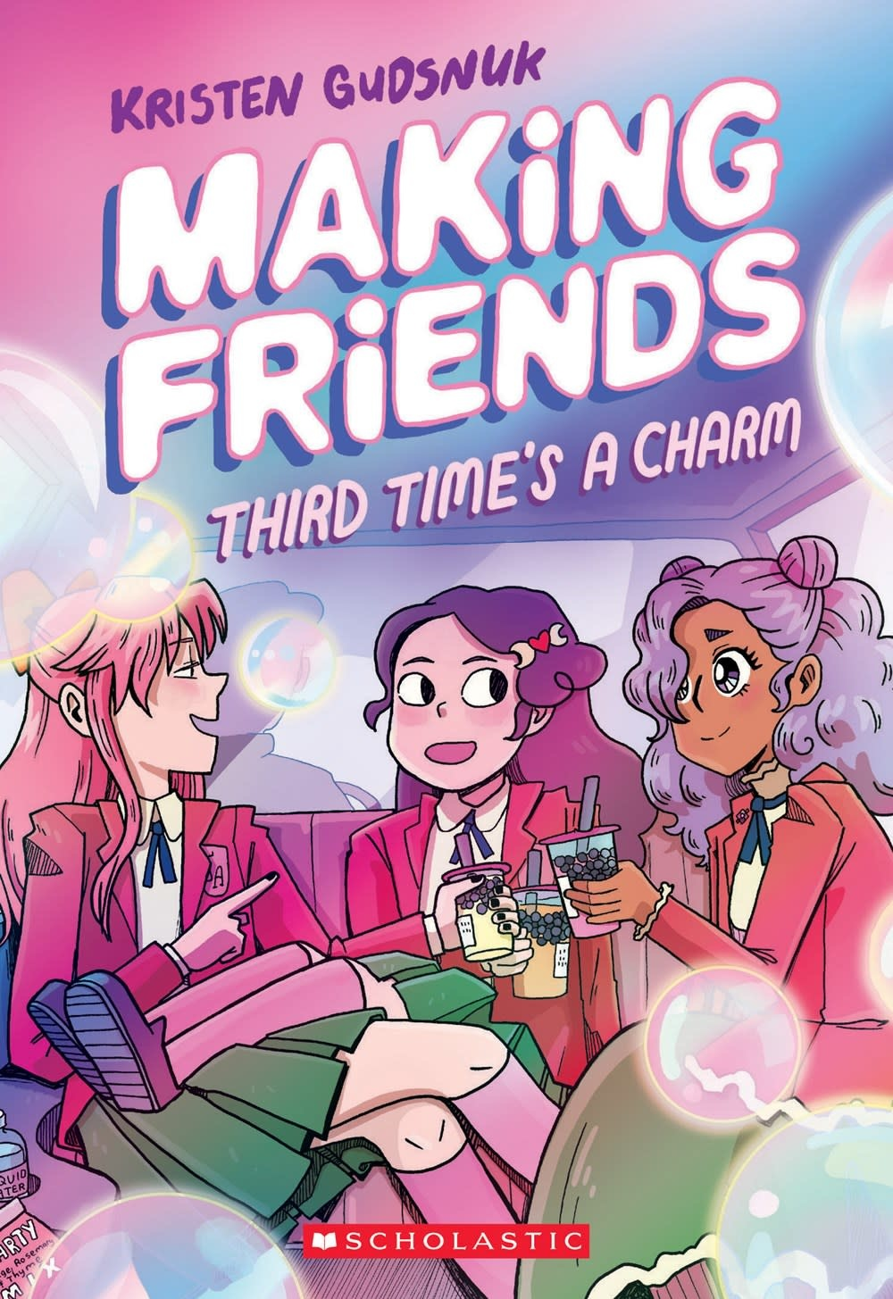 Graphix Making Friends: Third Time's a Charm