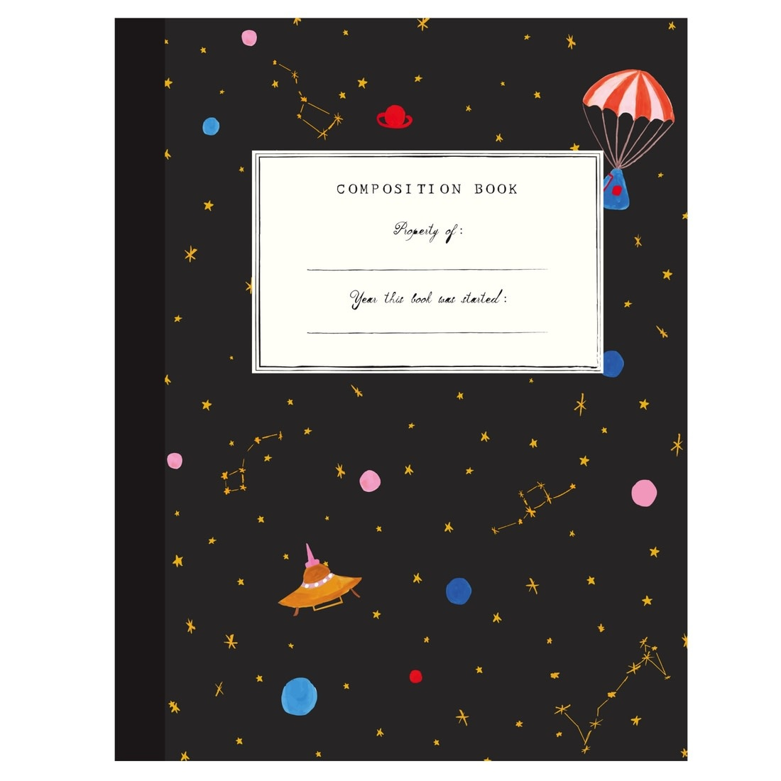 Outer Space (Composition Book)