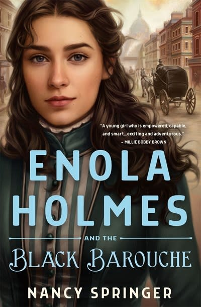 Wednesday Books Enola Holmes and the Black Barouche