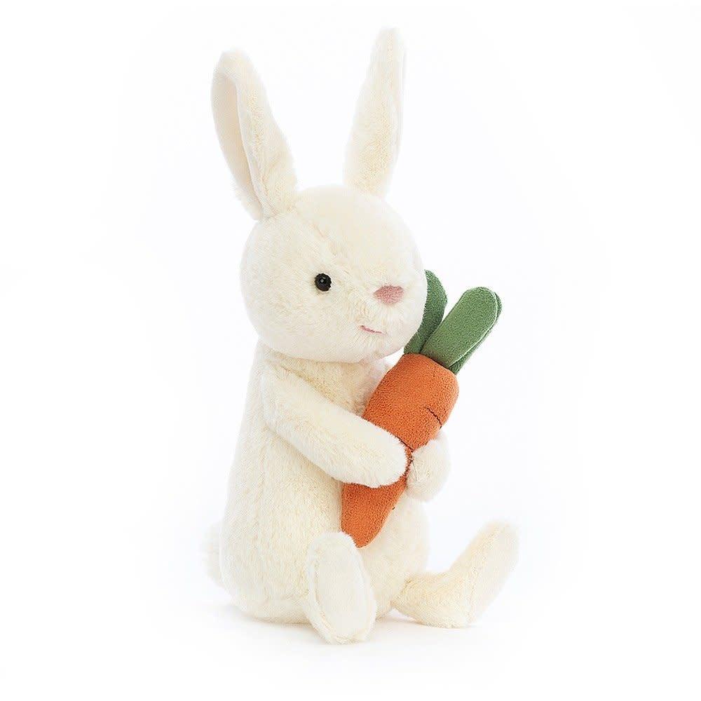 Jellycat Bobbi Bunny with Carrot (Medium Plush)