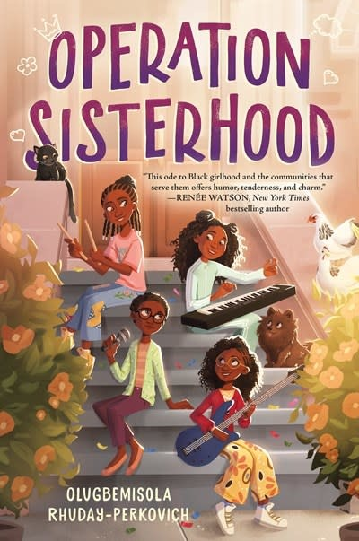 Crown Books for Young Readers Operation Sisterhood