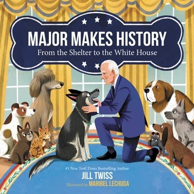 HarperCollins Major Makes History: From the Shelter to the White House