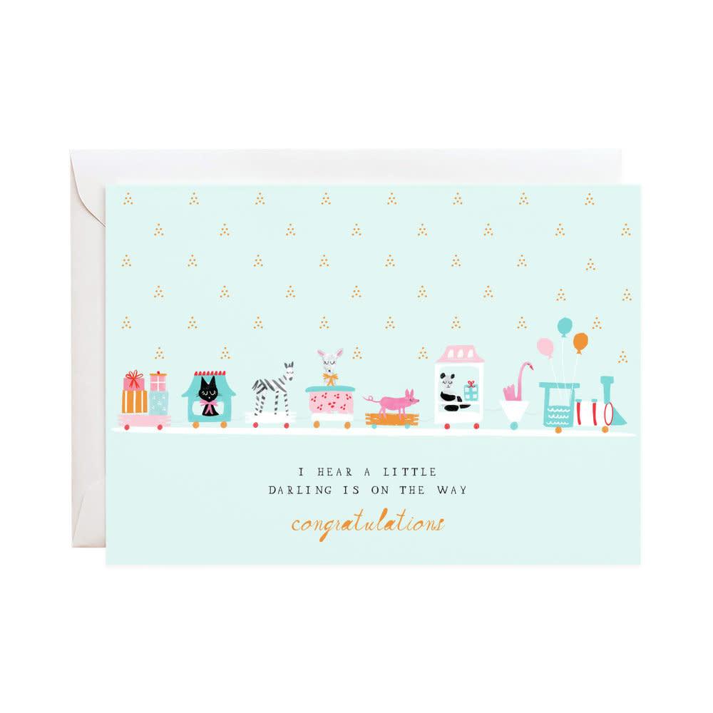 Choo Choo Train (Greeting Card)