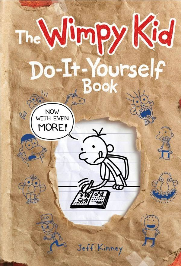 Amulet Books Diary of Wimpy Kid: Do It Yourself Book