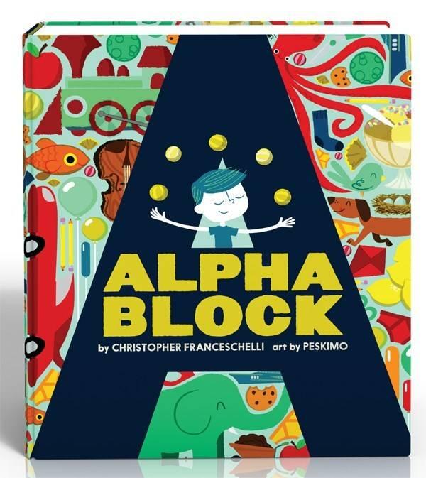 Abrams Appleseed Alphablock (Board Book)