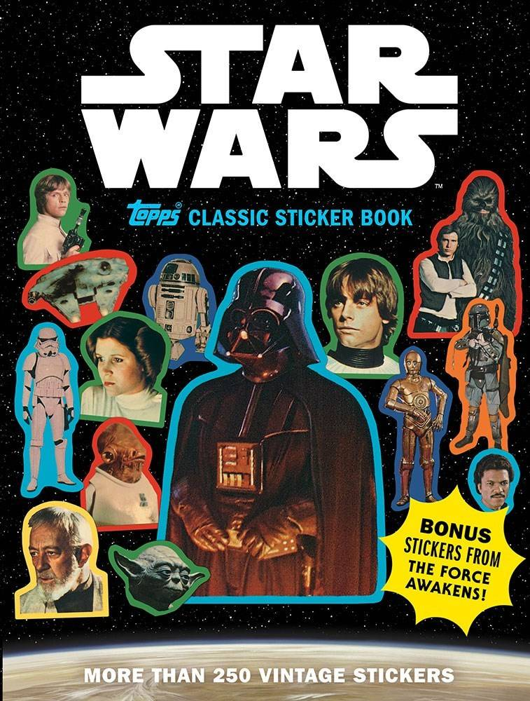 Abrams Books for Young Readers Star Wars: Topps Classic Sticker Book