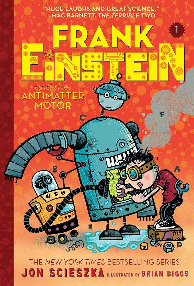 Amulet Paperbacks Frank Einstein 01 The Antimatter Motor