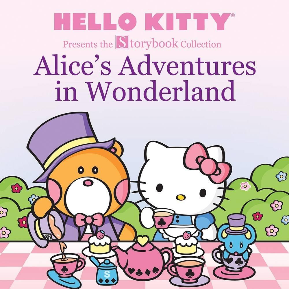 Abrams Appleseed Hello Kitty: Alice's Adventures in Wonderland