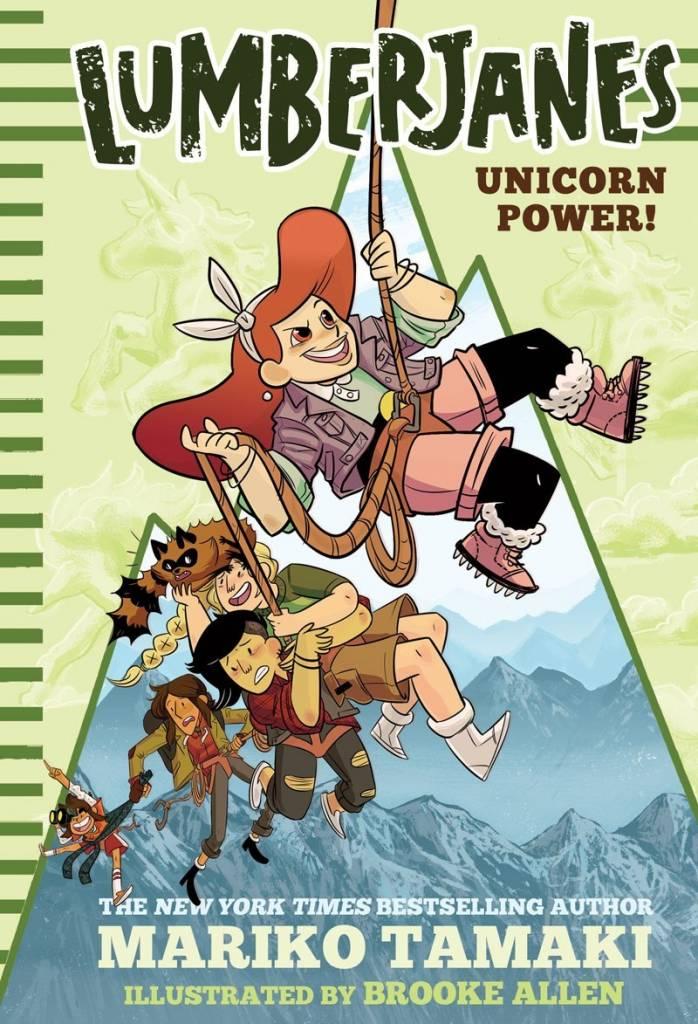 Amulet Books Lumberjanes Novels 01 Unicorn Power!