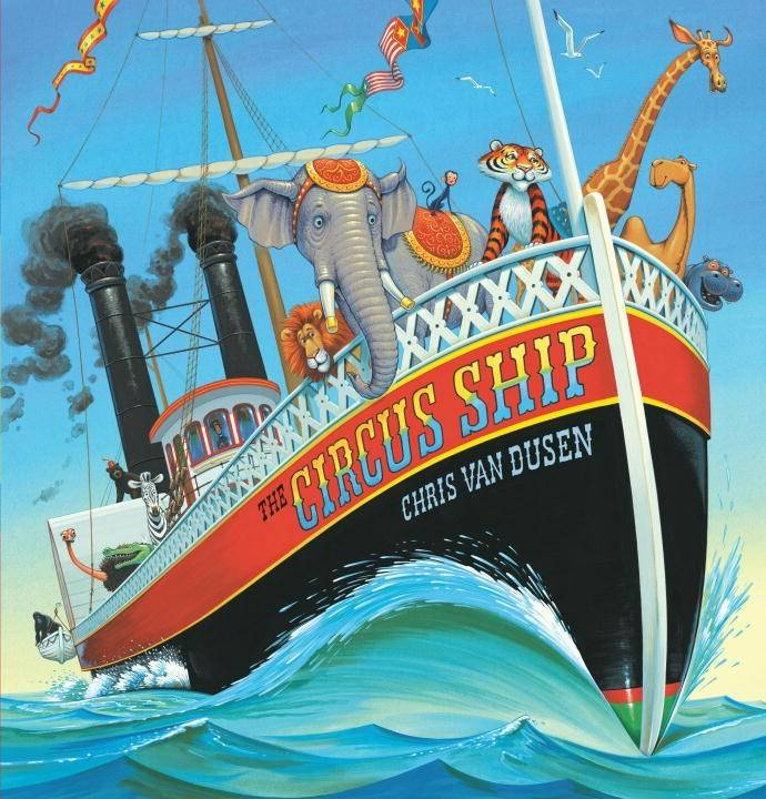 Candlewick The Circus Ship