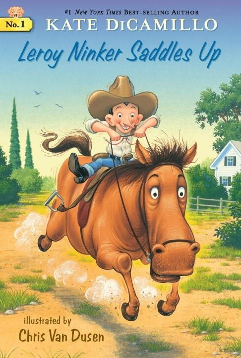 Candlewick Mercy...Deckawoo Drive 01 Leroy Ninker Saddles Up