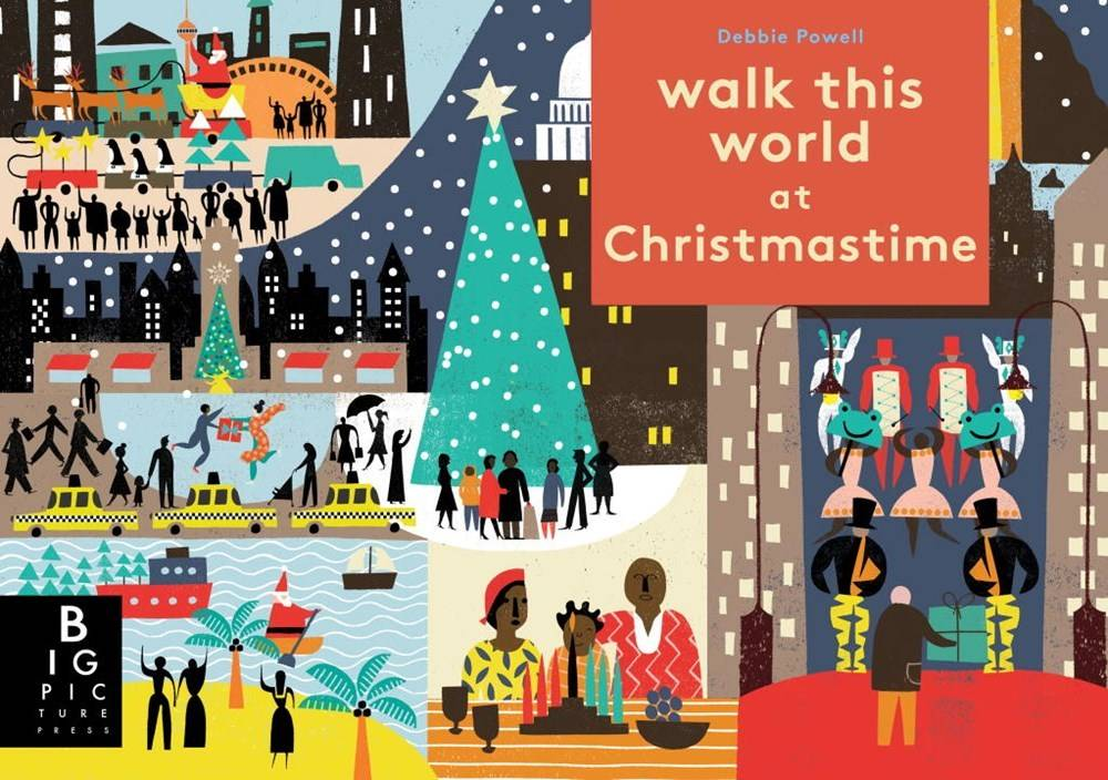 Big Picture Press Walk This World at Christmastime
