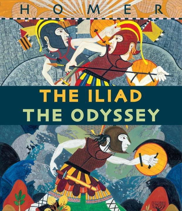 Candlewick The Iliad/The Odyssey Retold Boxed Set (2 Books)