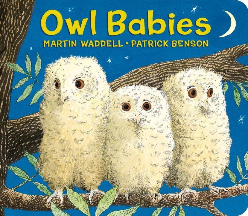 Candlewick Owl Babies Lap-Size Board Book