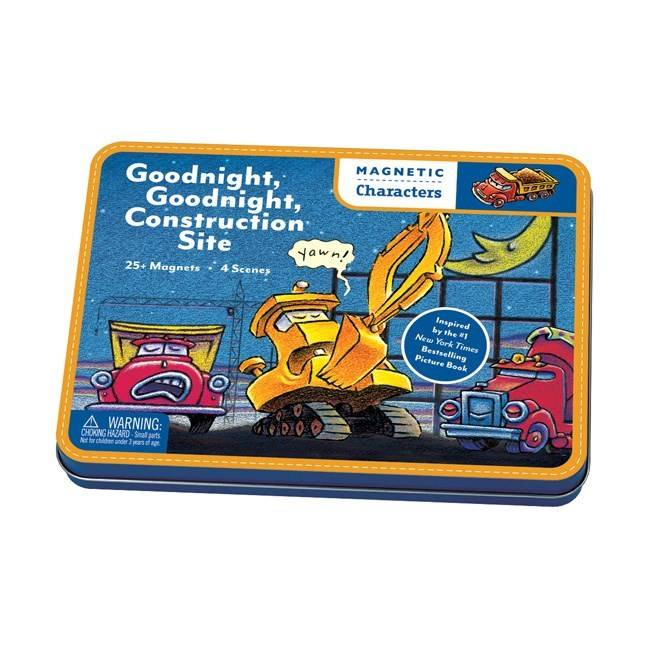 Mudpuppy Mudpuppy Magnets: Goodnight, Construction Site (25+...