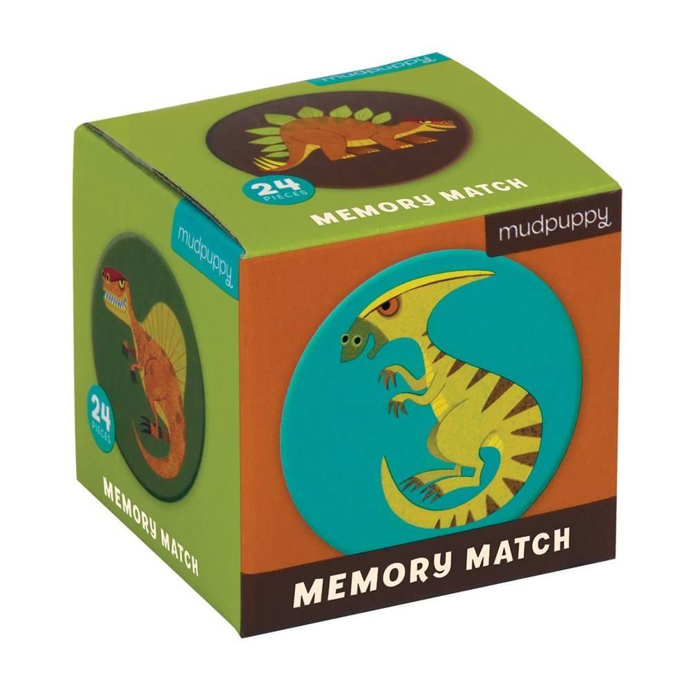 Mudpuppy Mini Memory Matching Game: MIghty Dinosaur