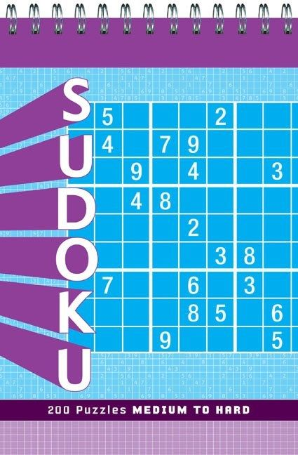 Chronicle Books Sudoku: Medium to Hard