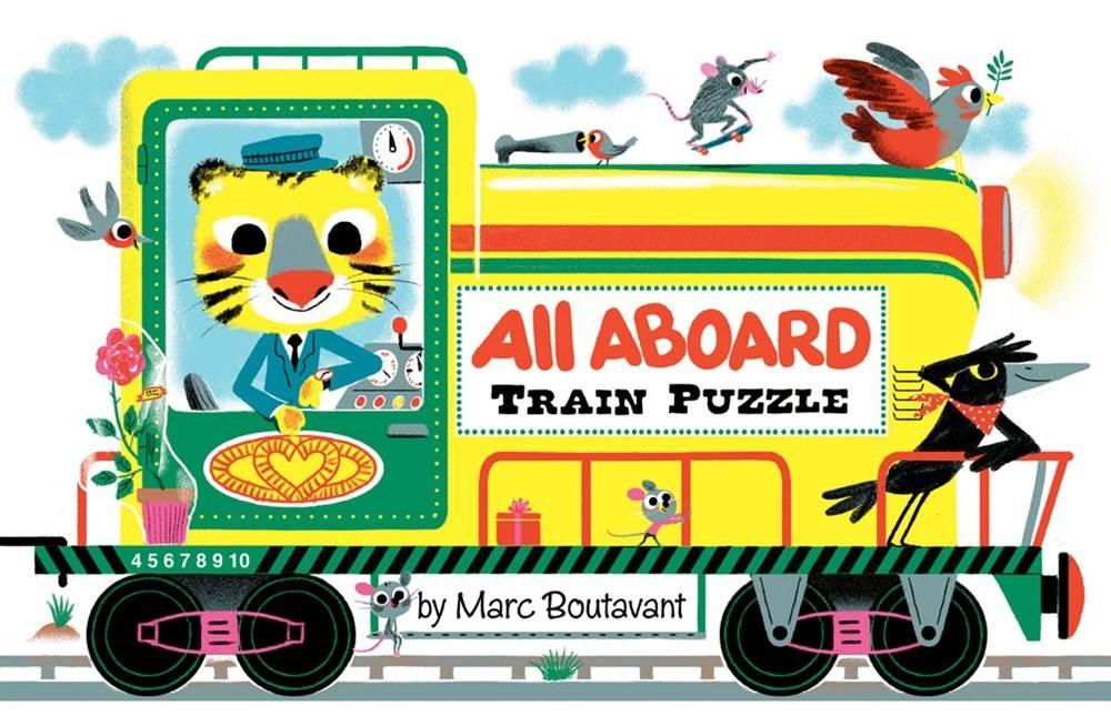 All Aboard Train (12-Piece Floor Puzzle)