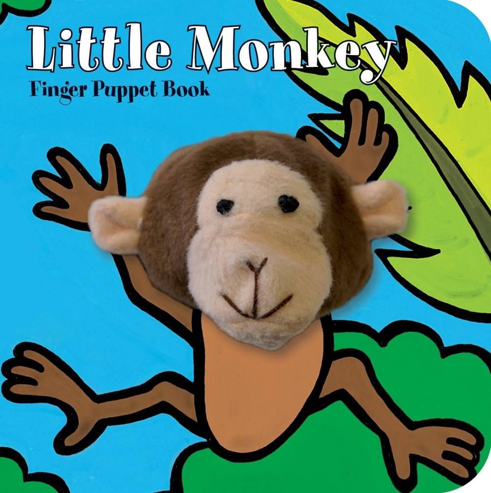 Little Monkey (Finger Puppet Board Book)