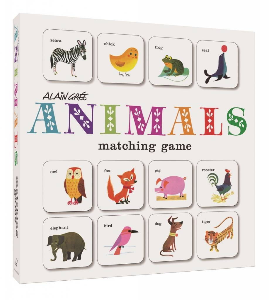 Chronicle Books Alain Gree Animals Matching Game