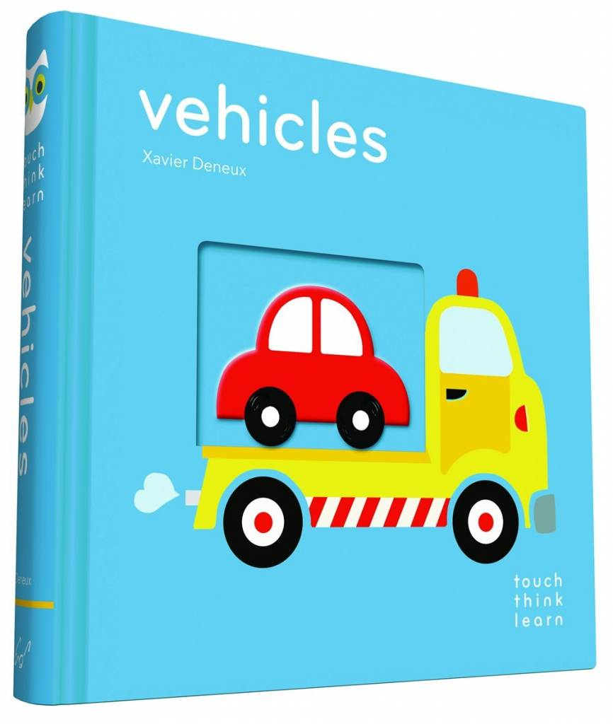 Chronicle Books TouchThinkLearn: Vehicles