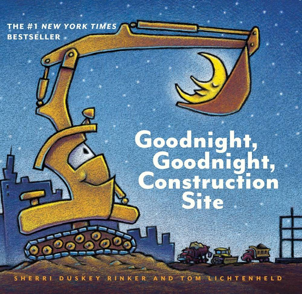 Chronicle Books Goodnight, Construction Site 01 (Small Board Book)