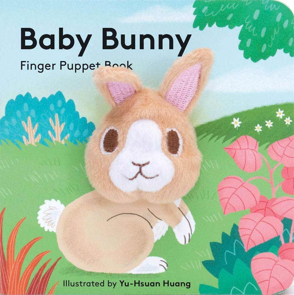 Chronicle Books Baby Bunny (Finger Puppet Board Book)