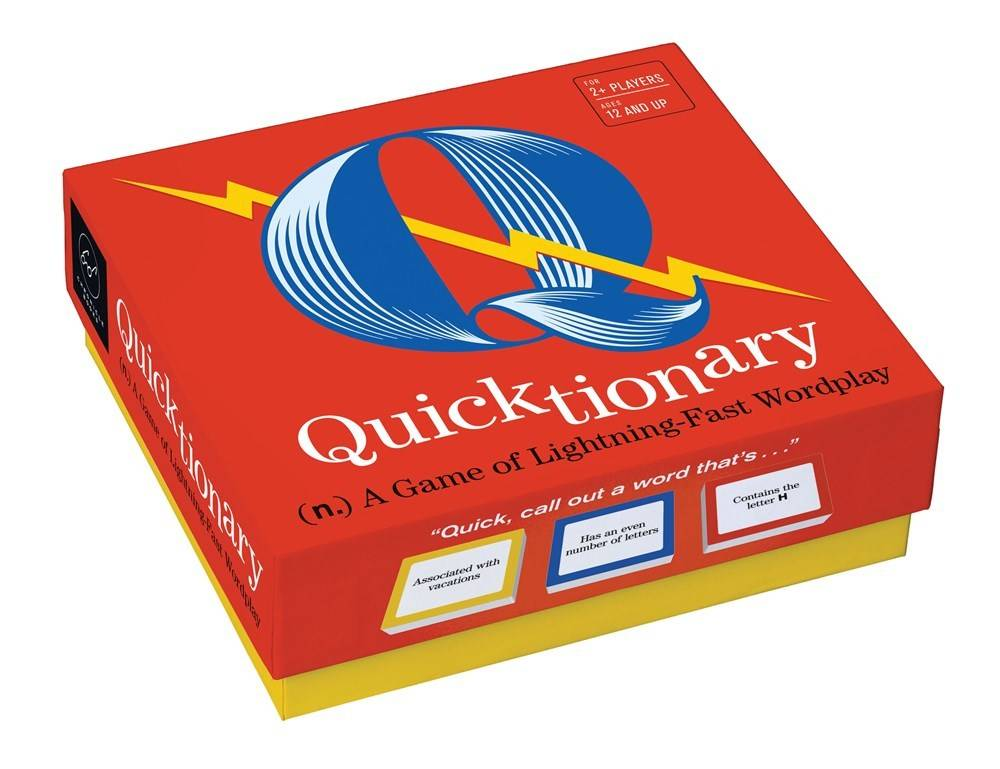 Chronicle Books Quicktionary: A Game of Lightning-Fast Wordplay