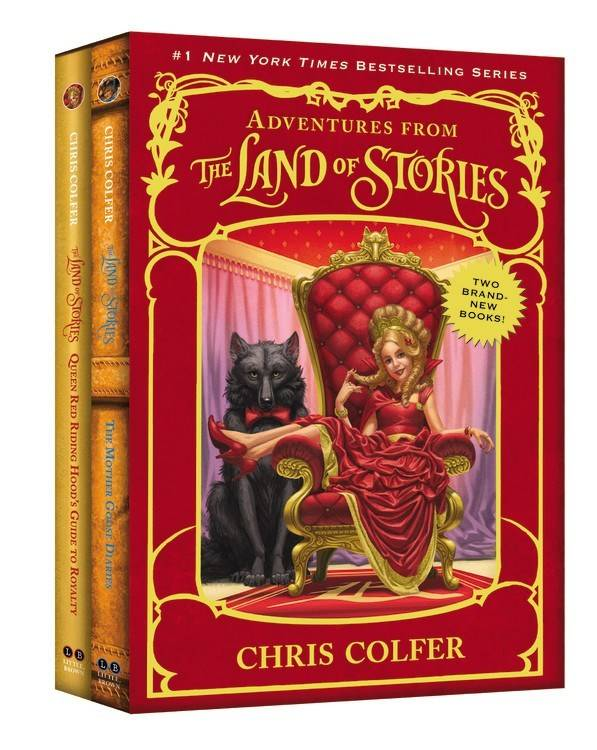 Little, Brown and Company The Land of Stories Companions Boxed Set (2 Books)