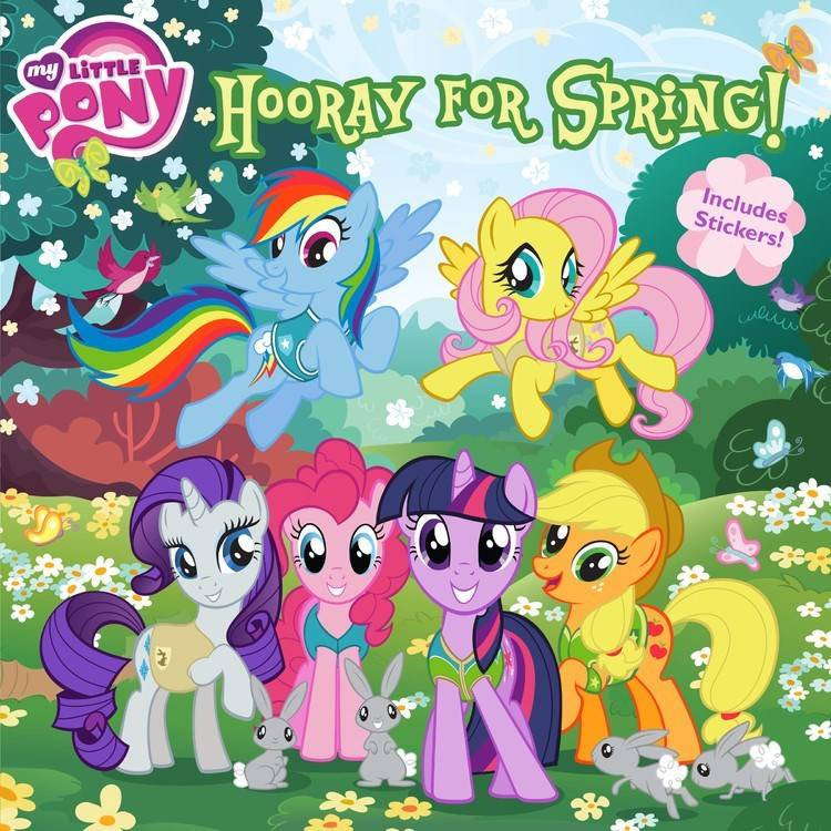 LB Kids My Little Pony: Hooray for Spring!