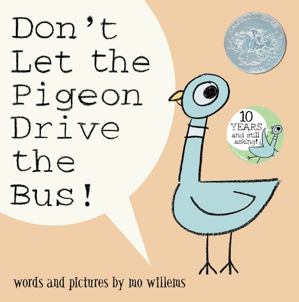 Disney-Hyperion Pigeon 01 Don't Let the Pigeon Drive the Bus!