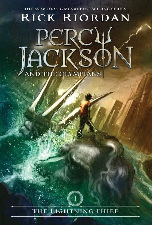 Disney-Hyperion Percy Jackson 01 The Lightning Thief