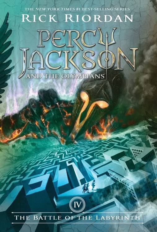 Disney-Hyperion Percy Jackson 04 The Battle of the Labryinth