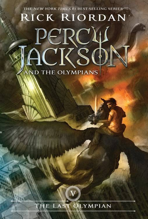 Disney-Hyperion Percy Jackson 05 The Last Olympian