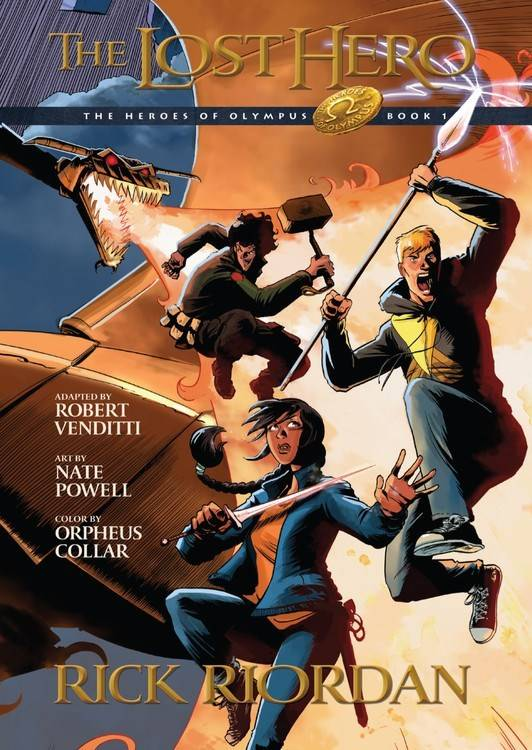 Disney-Hyperion Heroes of Olympus 01 The Lost Hero (Graphic Novel)