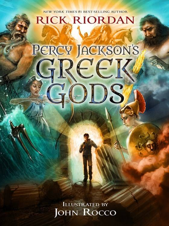 Disney-Hyperion Percy Jackson's Greek Gods (Companion)