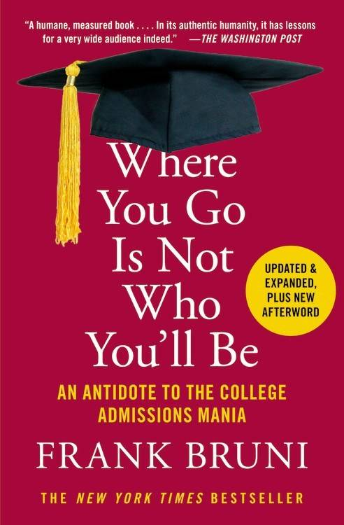 Grand Central Publishing Where You Go Is Not Who You'll Be (Expanded Ed.)