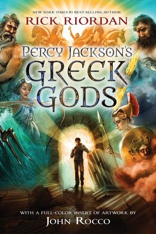 Disney-Hyperion Percy Jackson's Greek Gods (Companion)