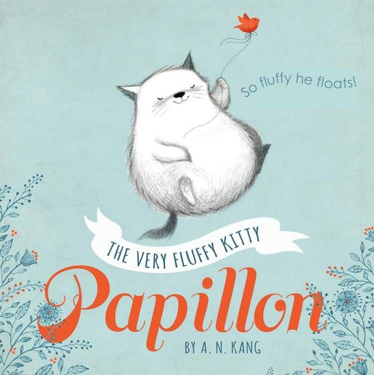 Disney-Hyperion Papillon 01 The Very Fluffy Kitty