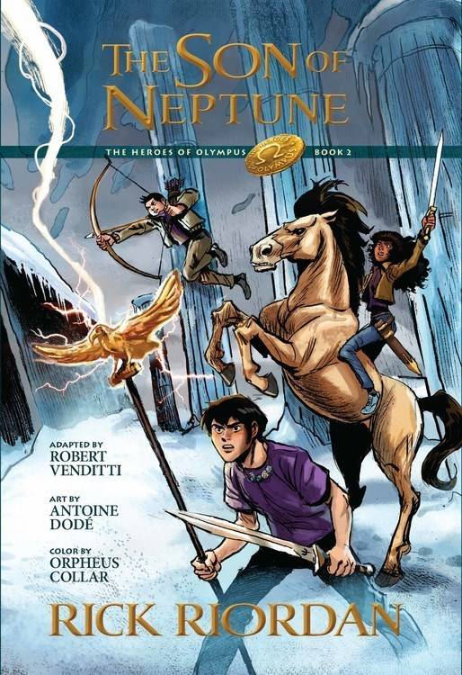 Disney-Hyperion Heroes of Olympus 02 The Son of Neptune (Graphic Novel)