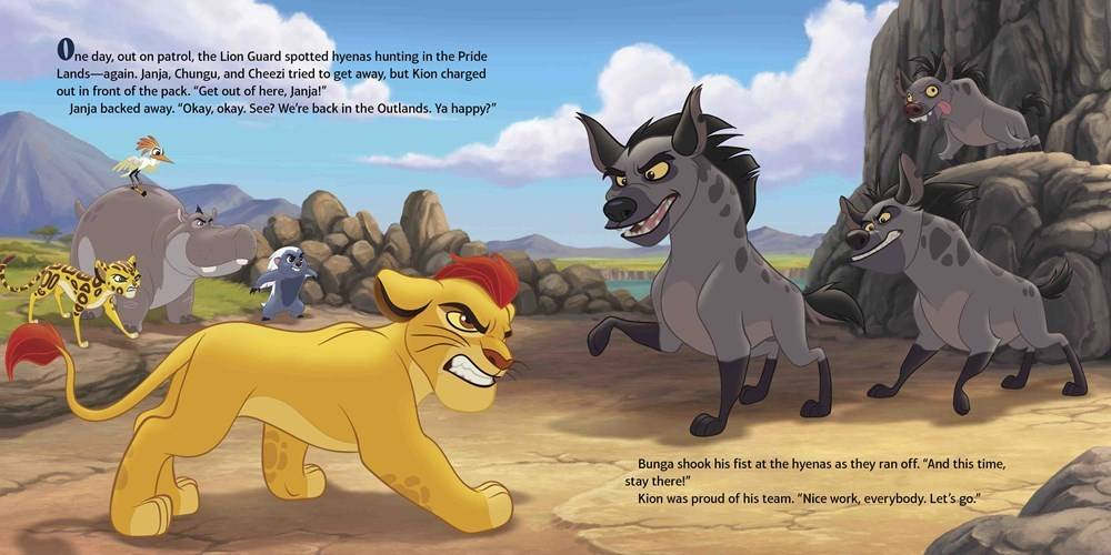 Disney-Hyperion Disney Lion Guard: The Power of the Roar (with CD)