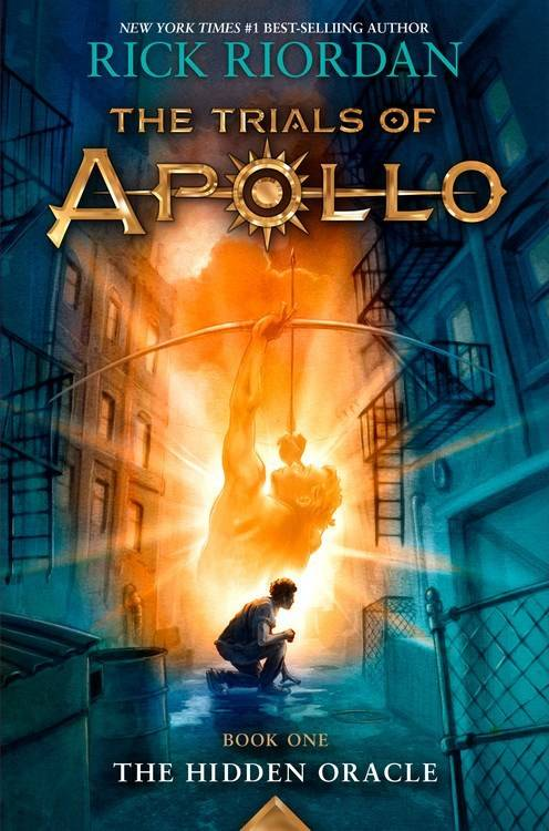 Disney-Hyperion The Trials of Apollo 01 The Hidden Oracle